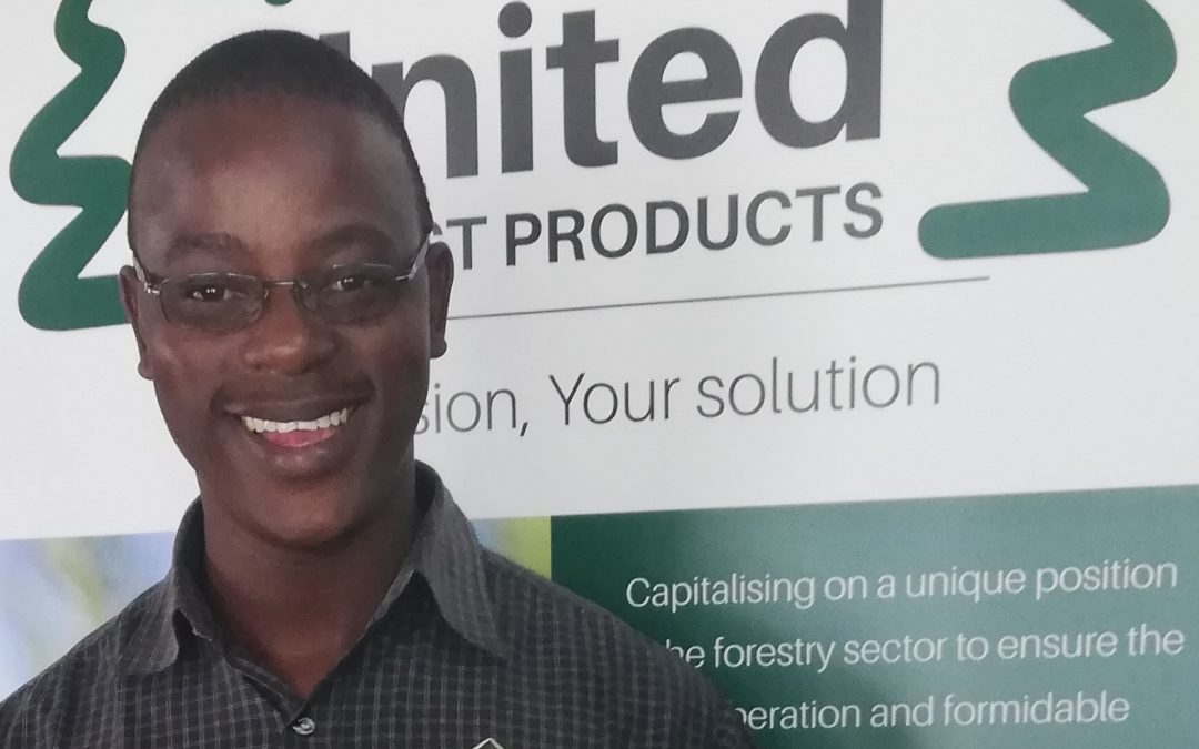Meet Job Mathebula: United Forest Products' marketing representative